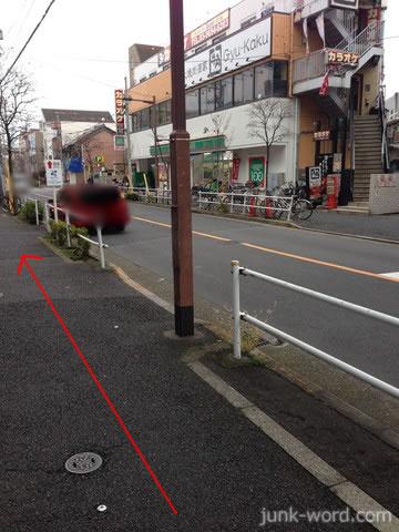 京成青砥駅付近のローソンストア100