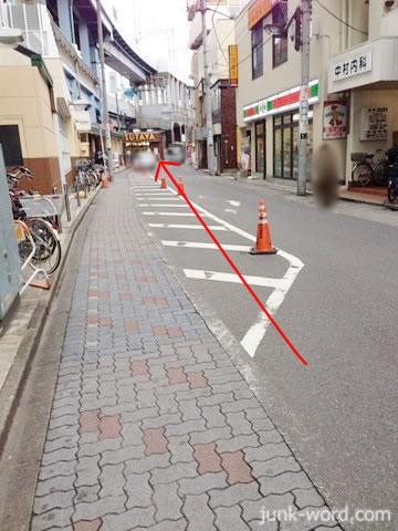 京成青砥駅前 サークルKサンクス