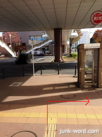 京成成田駅東口駅前ロータリーからセンターホテル成田への行き方