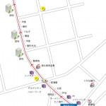 京成青砥駅から青戸ボウルまでの行き方地図