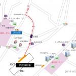 京成成田駅から成田山新勝寺への行き方地図1