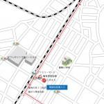 京成青砥駅から葛飾税務署行き方地図