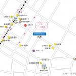 葛飾税務署周辺駐車場マップ 時間貸し駐車場地図